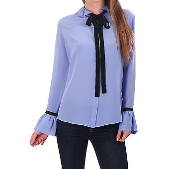 PS Paul Smith Ruffled Shirt avec Bow Detail sur collier