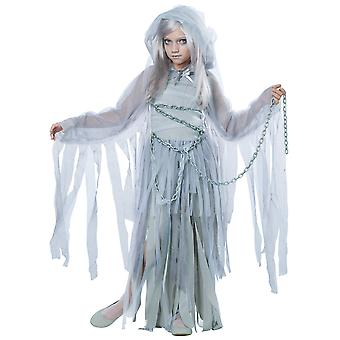 Uforglemmelige skjønnhet Ghost bruden ånd Horror Halloween Dress Up Girls drakt
