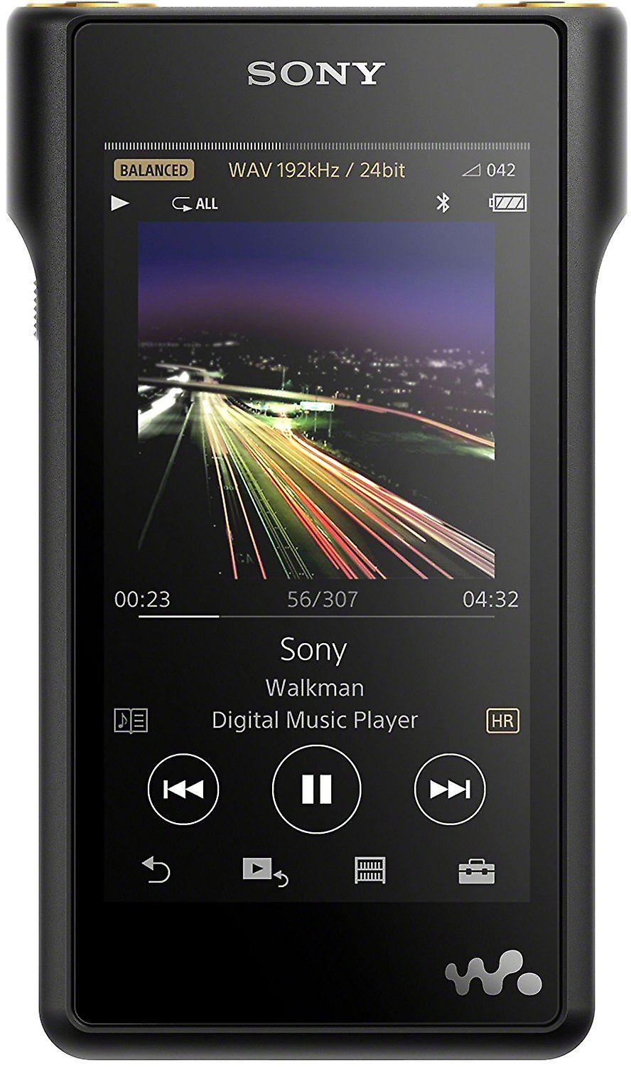 Sony NW-WM1A High-Resolution Audio Walkman (128GB Memory, S Master HX Engine, Aluminum Case, 4 inch LCD LED Multi-Touch Display) - Black