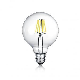 Trio Beleuchtung Globe moderne transparente Klarglas Lichtquelle