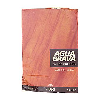 Puig Agua Brava Eau De Cologne Splash 3.4Oz/100ml (Damage Box)