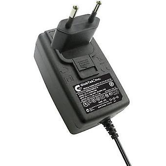 GlobTek WR9QE1500LCPNEU(RVB) Mains PSU (fixed voltage) 12 V DC 1500 mA 18 W