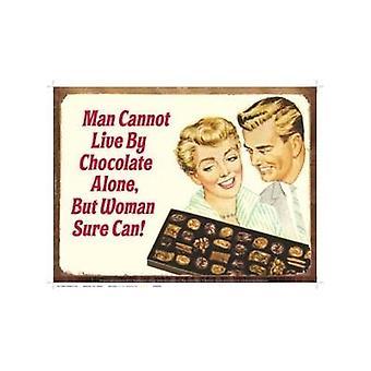 Hombre no puede vivir por el Chocolate... Divertida muestra del Metal