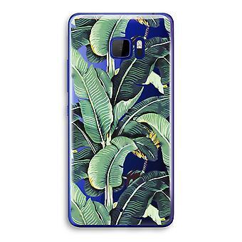 HTC U Ultra przezroczysty (Soft) - liście bananowca