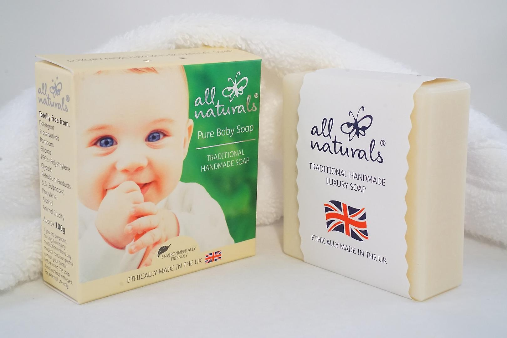 All Naturals Organic Baby Soap Bar 100g