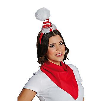 Kerst spiraal haarband