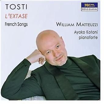 F.P. Tosti - Francesco Paolo Tosti: L'Extase [CD] USA import
