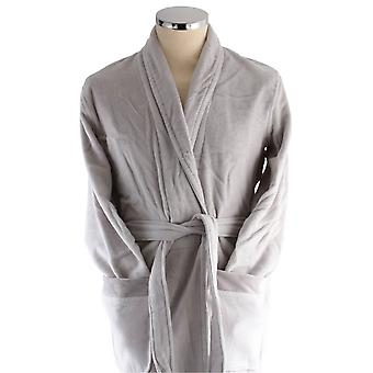 Bown of London Azealia Short Dressing Gown - Lilac Grey
