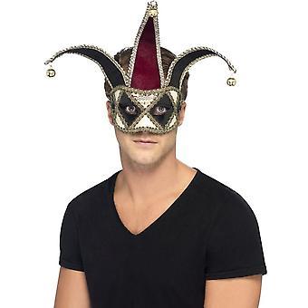 斯米菲·阿波斯;哥特式威尼斯哈莱金眼罩,