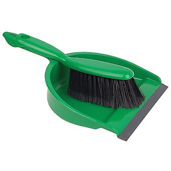 Robert Scott Green Dustpan & Soft Brush