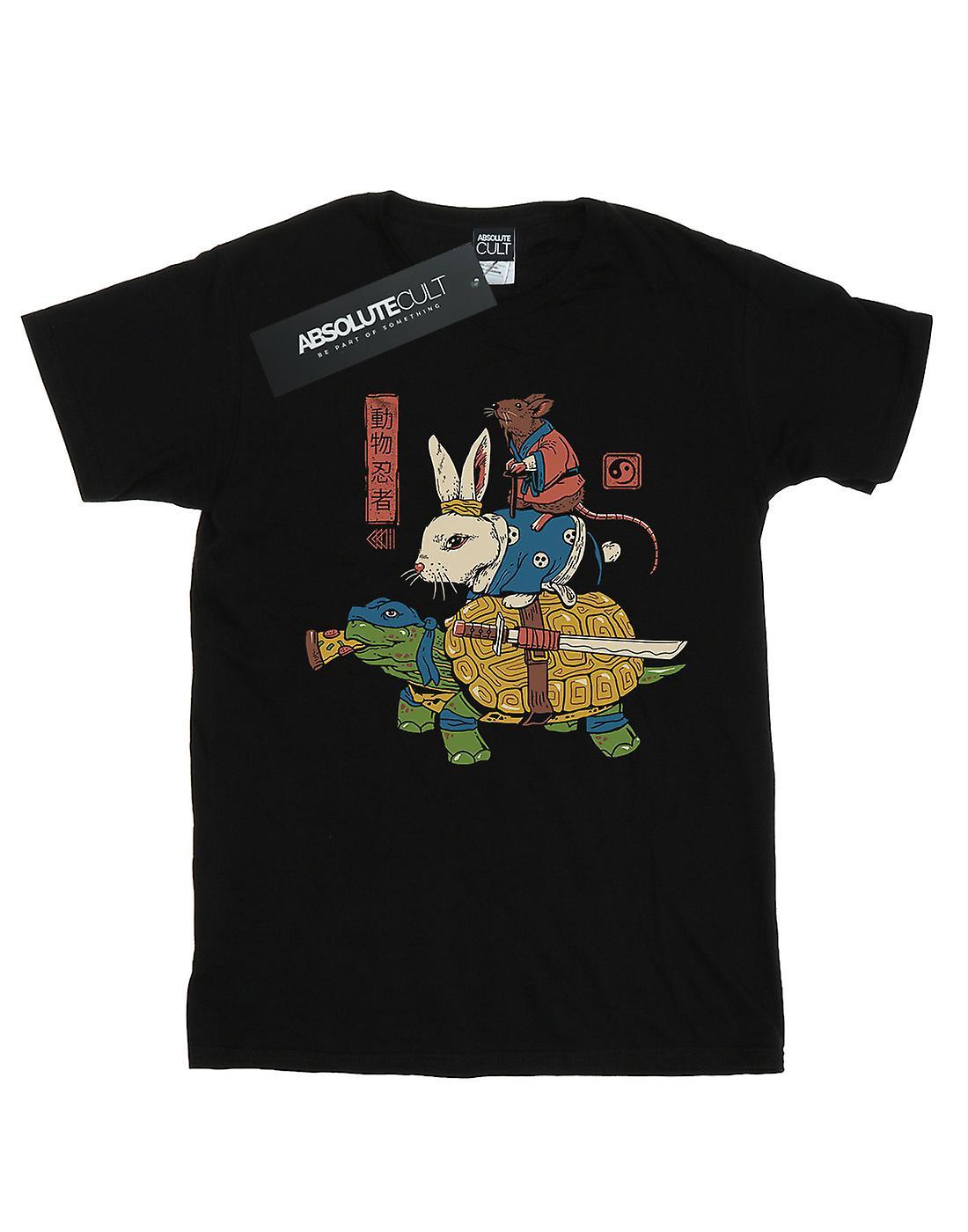 Vincent Trinidad Girls Kame, Usagi And Ratto Ninjas T-Shirt