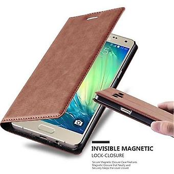 Cadorabo Case for Samsung Galaxy A5 2015 Case Cover - Phone Case with Magnetic Closure, Stand Function and Card Case Compartment - Case Cover Case Case Case Case Case Book Folding Style