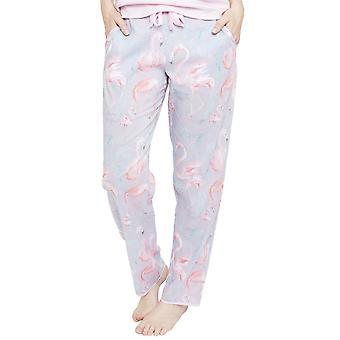 Cyberjammies 4112 vrouwen Zara grijs Flamingo Print Pyjama broek