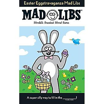 Easter Eggstravaganza Mad Libs (Mad Libs (Unnumbered Paperback))