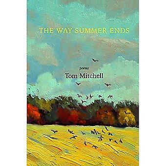 De weg eindigt de zomer