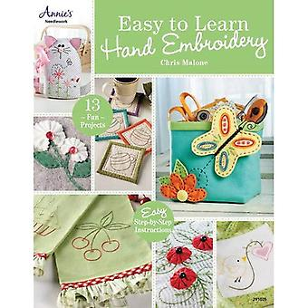 Easy to Learn Hand Embroidery: 13 Fun Projects (Annies)
