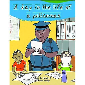Un giorno nella vita di un poliziotto di professionisti: professione guida per bambini