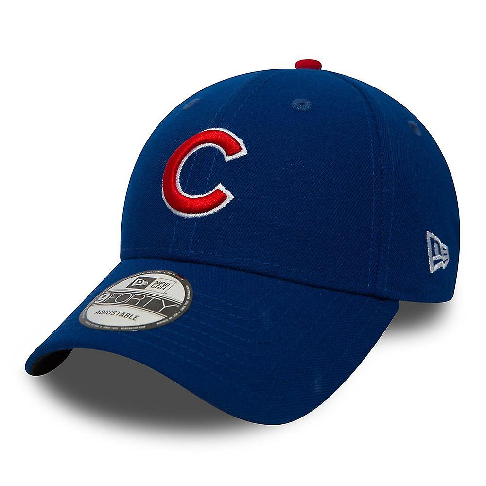New Era 9Forty Adjustable Curve Cap ~ Chicago Cubs