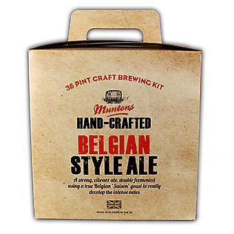 Hand-Crafted Belgian Ale