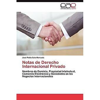 Notas de Derecho Internacional Privado da Sala Mercado & Jos Pablo