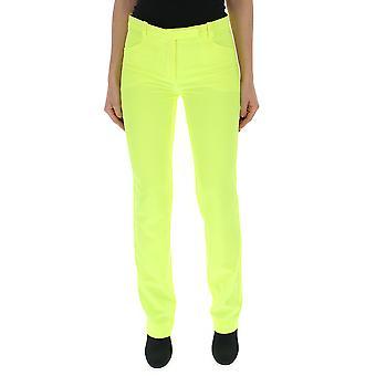 Versace Yellow Cotton Pants