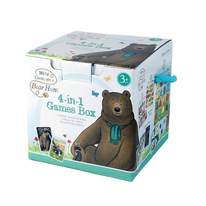 We're Going On a Bear Hunt 4-in-1 Games Box