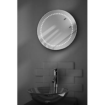 Mirage Ultra-Slim LED Bathroom Mirror With Demister Pad & Sensor k15
