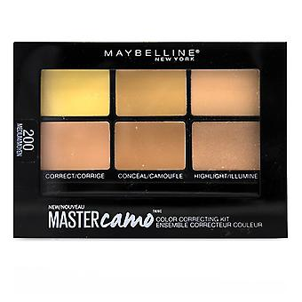 Maybelline Master Camo Color Correcting Kit - # 200 Medium - 6g/0.21oz