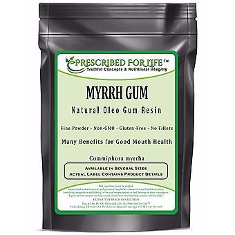 Myrrh - Natural Oleo Gum Resin Powder
