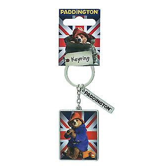 Paddington Bear film Union Jack sleutelhanger