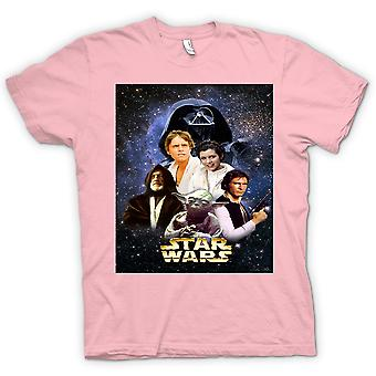 Womens T-shirt - Star Wars - Movie - Poster