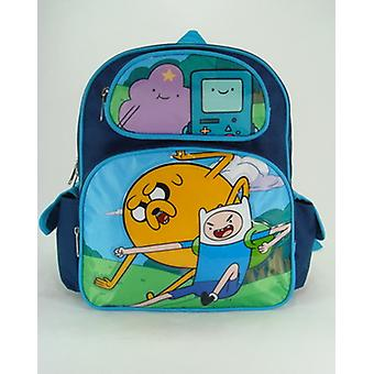 Small Backpack - Adventure Time - Funny Faces  New School Book Bag 630300