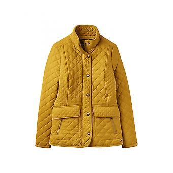 Joules Newdale Womens Quilted Jacket - Caramel