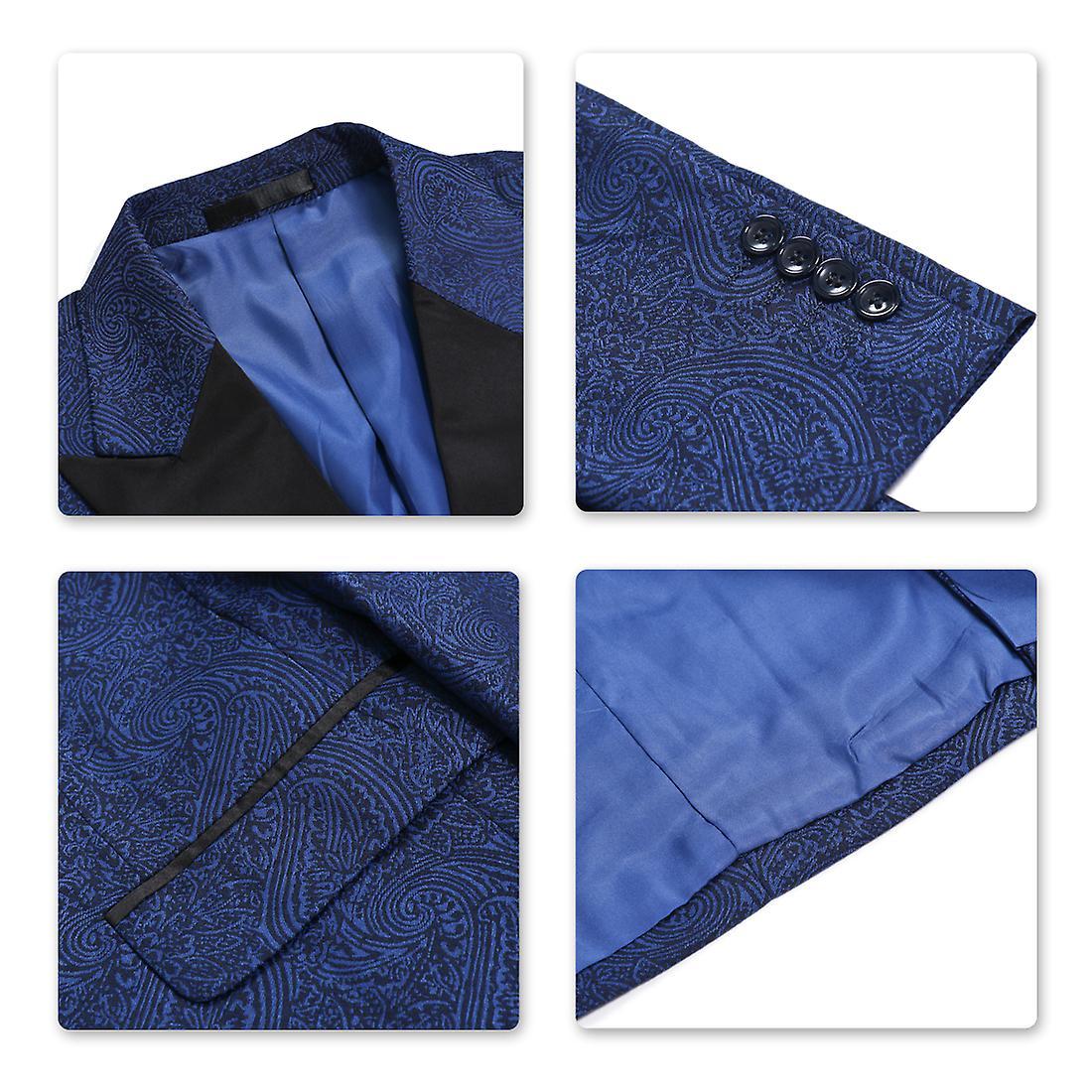 Allthemen Men's Tuxedos Wedding 2-Pieces Banquet Party Suit Dress Blazer&Pants