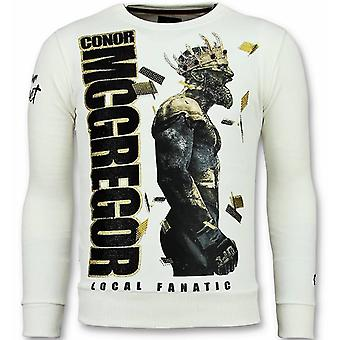 Notorious Sweater - King Mcgregor Sweater - White