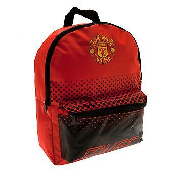 Manchester United FC barnens/ungar Fade Design ryggsäck