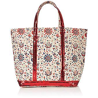 Vanessa Bruno Cabas Moyen - Multicolor Women's Tote Bags (Multico/Orange) 18x335x49 cm (W x H L)