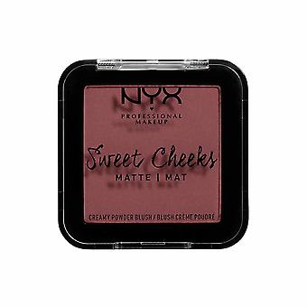 NYX PROF. MAKEUP Sweet Cheeks Creamy Matte Powder Blush-Fig