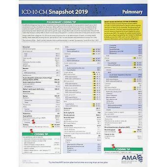 ICD-10-CM 2019 Snapshot Coding Card: Pulmonary