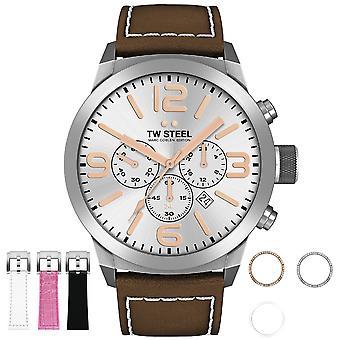 TW Steel Marc Coblen Edition TWMC32 herenhorloge chronograaf