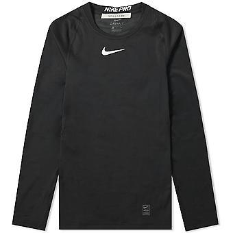 1017 ALYX 9SM x Nike Pro Laser logo musta LS tee
