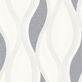 Wave Embossed Textured Wallpaper Direct Wallpapers