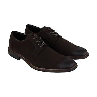 Unlisted by Kenneth Cole Align Ment Mens Brown Casual Lace Up Oxfords Shoes