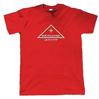 Mayflower projekt nära möten film inspirerad, mens T-shirt-gift honom pappa