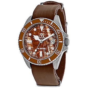 Christian Van Sant Men's Montego Vintage Brown Dial Watch - CV5201B