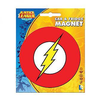 Das Flash Car und Kühlschrank Magnet