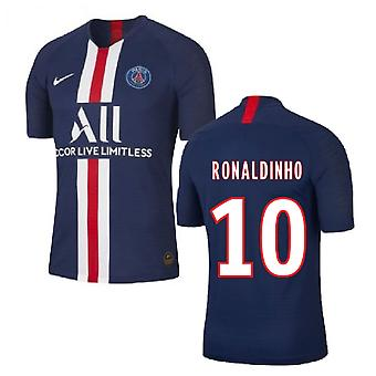 2019-2020 PSG Home Nike Shirt (Kids) (RONALDINHO 10)