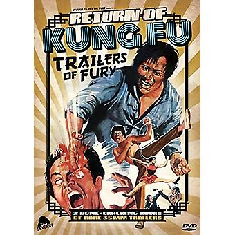 Return of Kung Fu Trailers of Fury [DVD] USA import