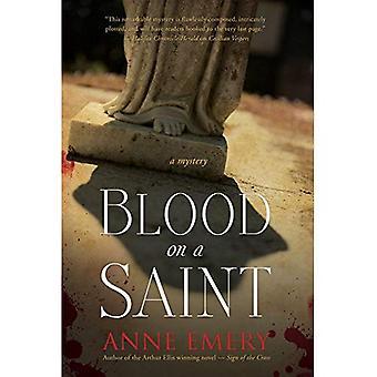 Bloed op een heilige (Collins-Burke Mystery)