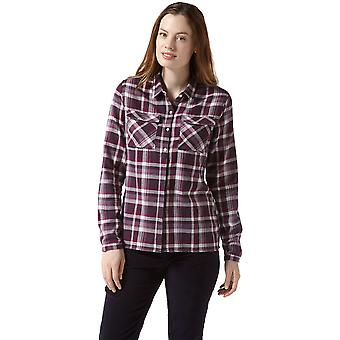 Las mujeres Craghoppers Islay suave cepillado camisa de manga larga